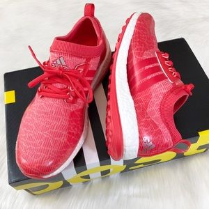 Adidas Boost Women's Shoes Sneakers Red 7.5